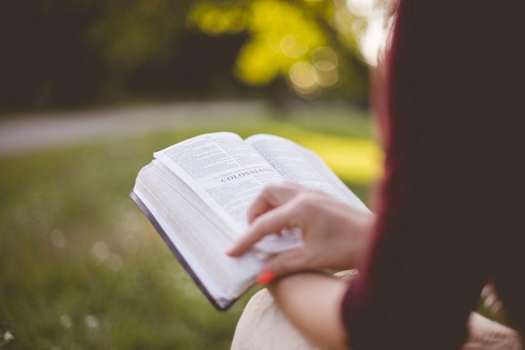 本を読んでいるひと