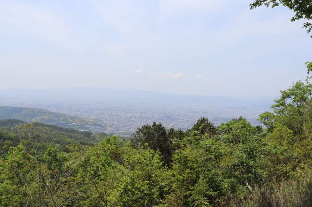 大文字山山頂からの景色
