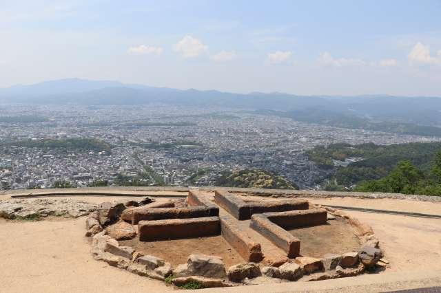 大文字山火床からの景色