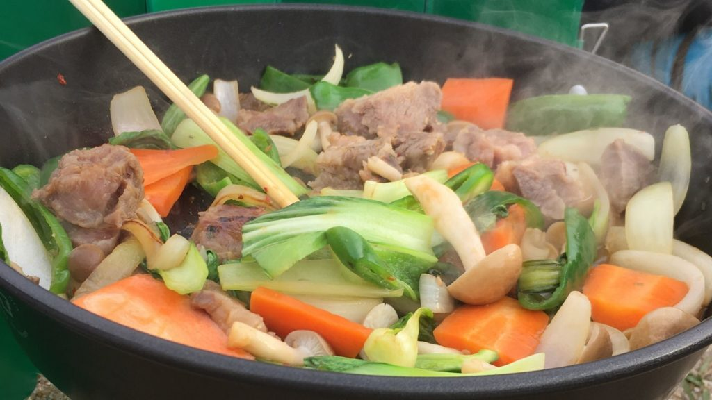 焼肉風野菜炒めの写真
